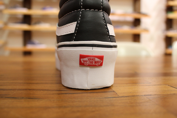 vans sk8 hi holiday 2012 61 Des Vans faon platform shoes !