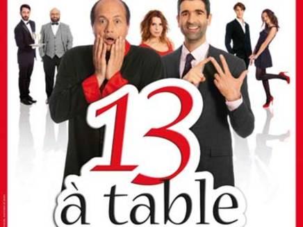 Th tre 13 table au th tre saint georges les mains d 39 or for 13 a table superstition
