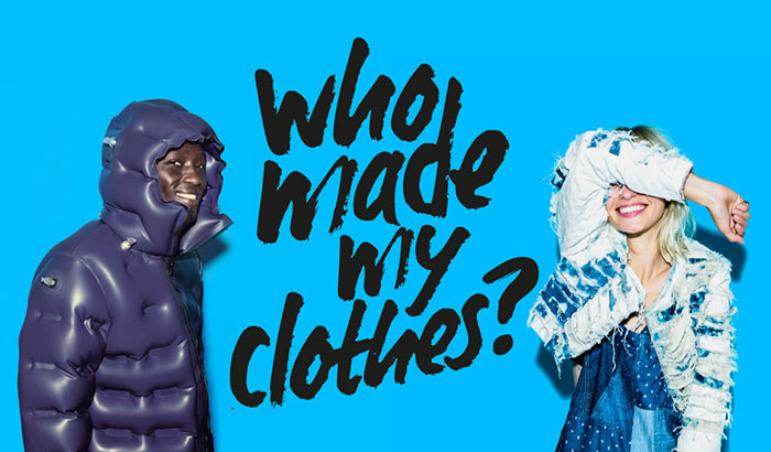 Who made my clothes ? Fashion Revolution Day 2016