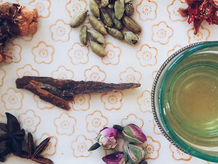 La recette du thé royal