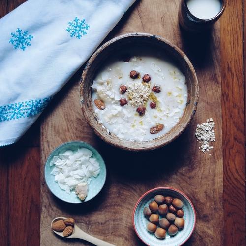 Recette de bowl matinal healthy