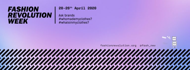 Who made my clothes ? Fashion Revolution Day 2020